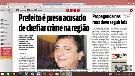 DIARIO DO PARA 17 SET BOTO PRESO