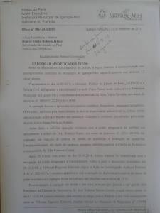 CARTA PINA VIOLENCIA EM SETEMBRO 2015
