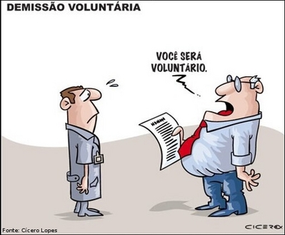 demissao voluntaria